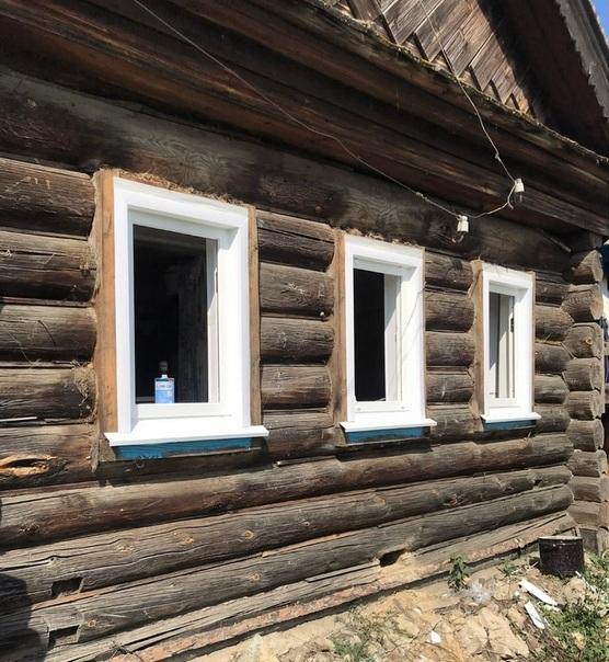 Истинно деревенский дом