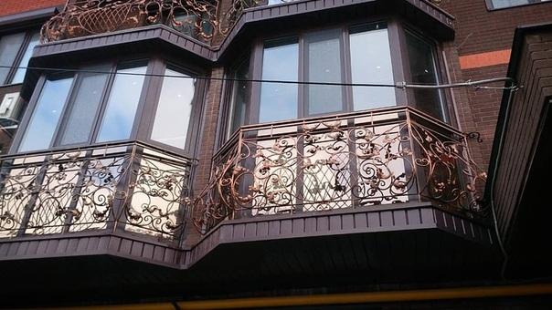 В красивых домах - красивые балконы!
