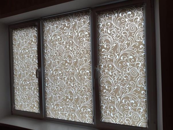 Актуальная к весне обновка для окон - рулонные шторы