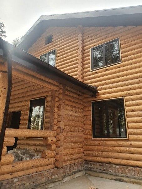 Ламинированные окна и древесина